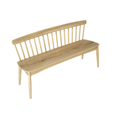 Karpenter Twist Bench - European White Oak