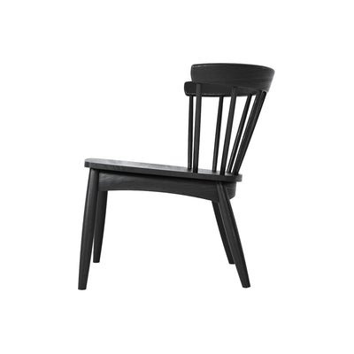 Karpenter Twist Easy Chair - Satin Black European Oak