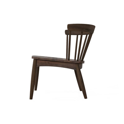 Karpenter Twist Easy Chair - American Black Walnut