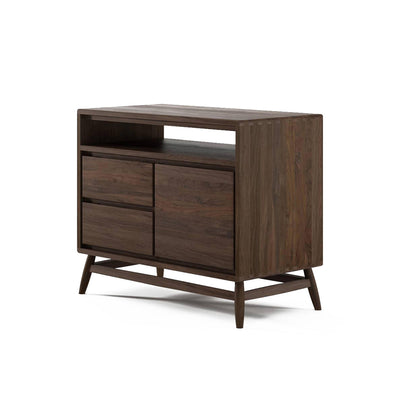 Karpenter Twist Sideboard - American Black Walnut