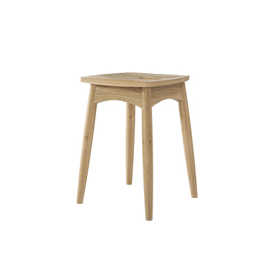 Karpenter Twist Stool - European White Oak