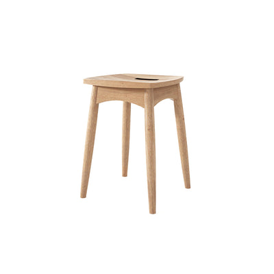 Karpenter Twist Stool - Reclaimed Teak