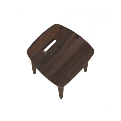 Karpenter Twist Stool - American Black Walnut
