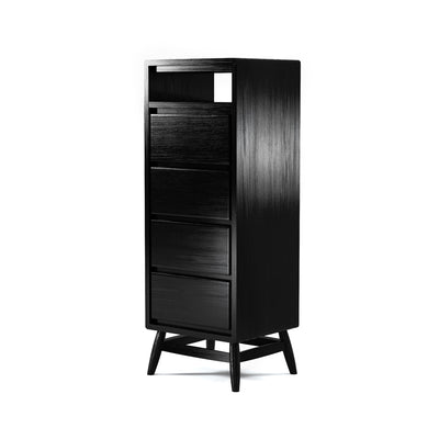 Karpenter Twist Tallboy - Satin Black European Oak