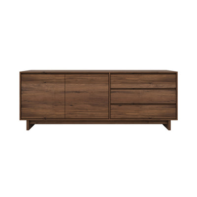 Ethnicraft Walnut Wave Sideboard