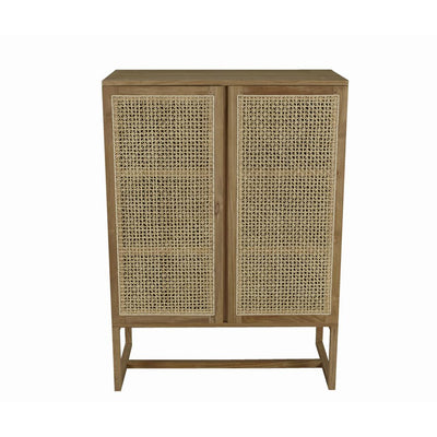 Willow Woven Storage Cupboard