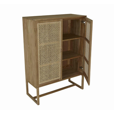 Willow Woven Storage Cupboard Internal Shelving