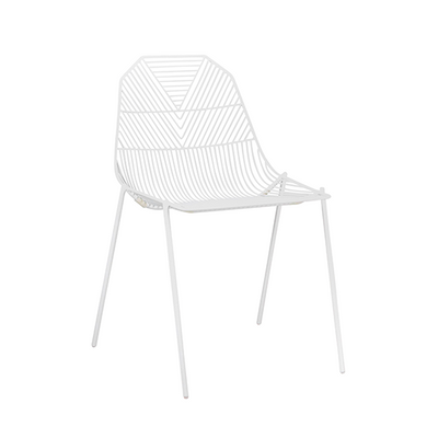 Arrow Chair White