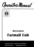 International Farmall Cub Tractor Manual
