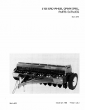 International 5100 Grain Drill - Parts Catalog