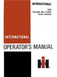 International 820 Grain Head Manual