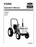 Ford 1715 Tractor Manual