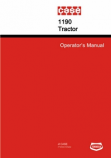 Case 1190 Tractor Manual