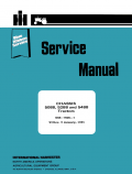 International 5088, 5288, and 5488 Tractors - Service Manual