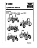 Ford 3230, 3430, 3930, 4630, and 5030 Tractors Manual