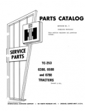 International 6388, 6588, and 6788 - Parts Catalog