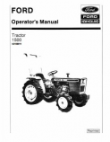 Ford 1500 Tractor Manual