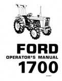 Ford 1700 Tractor Manual