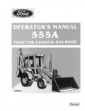 Ford 555A Tractor/Loader/Backhoe Manual