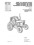 Case 1070 Agri-King Tractor - Parts Catalog