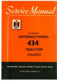 International 434 Tractor - Service Manual