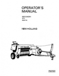New Holland 271 Hayliner Manual
