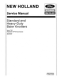 New Holland Baler Knotters - Service Manual