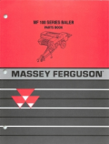 Massey Ferguson 120, 124, 126, 128, and 130 Baler - Parts Manual