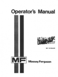 Massey Ferguson 12 Baler Manual