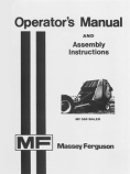 Massey Ferguson 560 Baler Manual