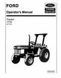 Ford 1710 Tractor Manual