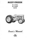 Massey Ferguson 35 Special and 35 Deluxe Tractor Manual