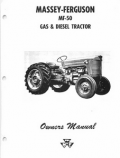 Massey Ferguson 50 Gas and Diesel Tractor Manual