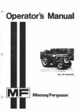 Massey Ferguson 135 Tractor Manual