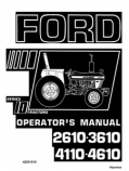 Ford 2610, 3610, 4110, and 4610 Manual
