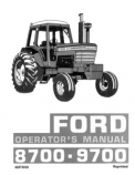 Ford 8700 and 9700 Tractors Manual