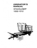 New Holland 1002 and 1012 Stackliner Manual
