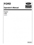 Ford 1300 Tractor Manual
