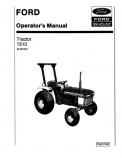 Ford 1510 Tractor Manual
