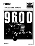 Ford 9600 Tractor Manual