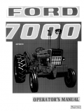 Ford 7000 Tractor Manual