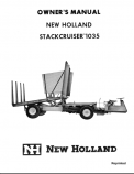 New Holland Stackcruiser 1035 Manual