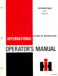 International 274 Tractor Manual