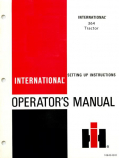 International 364 Tractor Manual