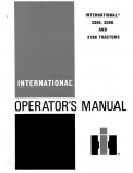 International 3388, 3588 and 3788 Tractors Manual