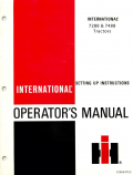 International 7288 and 7488 Tractors Manual