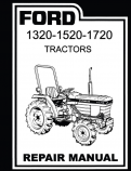 Ford 1320, 1520, and 1720 Tractors - Service Manual
