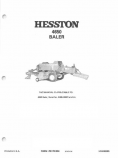 Hesston 4650 Baler Manual