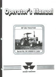 Massey Ferguson 285 Tractor Manual