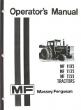 Massey Ferguson 1105, 1135, and 1155 Tractor Manual